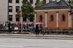 Regenweer stock foto's
