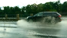 Regenweg Stock Afbeelding