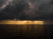 Regenwolken Lizenzfreie Stockfotografie