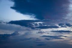 Regenwolken Royalty-vrije Stock Afbeeldingen