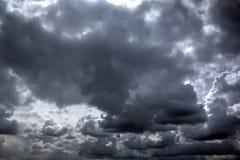 Regenwolken Sonniger Tag stockfotografie