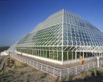 Regenwoud en het leven kwarten van Biosfeer 2 in Oracle in Tucson, AZ stock fotografie