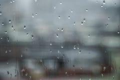 Regenzeit ist blauer Tag Stockbild
