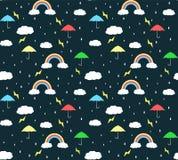 Regenzeitmusterhintergrund lizenzfreie stockbilder