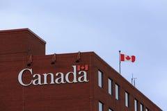 Regering av Kanada byggnad arkivfoton