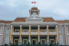 Regeringbyggnad i Nha Trang, Vietnam arkivfoton