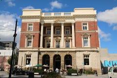 Regerings- avdelnings- byggnad, Christchurch, Nya Zeeland Fotografering för Bildbyråer