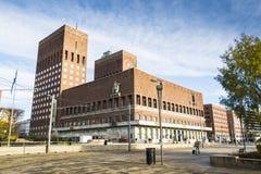 Regerings- byggande Oslo Arkivfoto