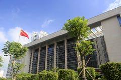 Regerings- byggnad för Haicang område royaltyfri fotografi