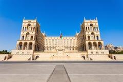 Regerings- hus av Baku Royaltyfria Foton