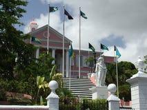 Regerings- hus, Nassau Bahamas Royaltyfria Foton
