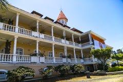 Regerings- hus Papeete Arkivfoto