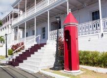 Regerings- hus US Virgin Islands royaltyfria bilder