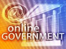regerings- illustration Arkivfoto