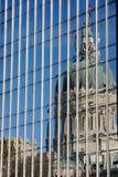 Regerings- reflexion Fotografering för Bildbyråer