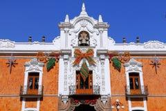 Regerings- slottdropp, Tlaxcala Arkivfoton