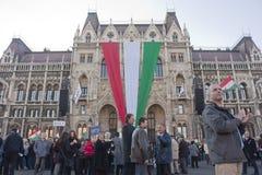 regerings- ungersk slagsympati Royaltyfri Bild