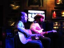 Reggae Artist Keith Batlin jams at the Hard Rock Cafe Stock Photo