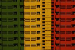 Reggae background stock illustration