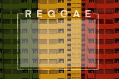 Reggae background stock photos