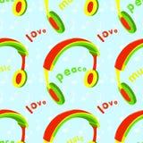 Reggae Bezszwowy Obraz Royalty Free