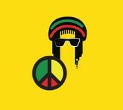 Reggae Culture Concept Design Stock Photo