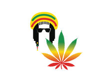Reggae Culture Concept Design Stock Photo