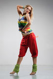 Reggae dancer Stock Images