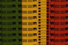 Reggae-Hintergrund stock abbildung