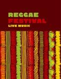Reggae koloru muzyczny klasyczny tło Zdjęcia Royalty Free