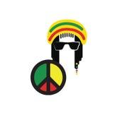 Reggae-Kultur-Konzept-Design Lizenzfreies Stockbild