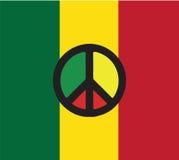 Reggae-Kultur-Konzept-Design Stockbild