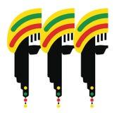 Reggae-Kultur-Konzept-Design Stockfotografie