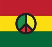 Reggae-Kultur-Konzept-Design Lizenzfreie Stockfotografie
