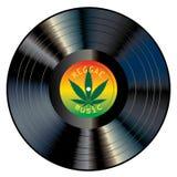 Reggae LP royalty ilustracja