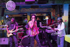 Reggae Music Band ,Miami, Florida, United States Royalty Free Stock Photography