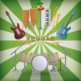 Reggae Royalty Free Stock Photos