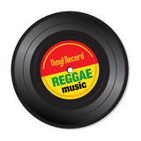 Reggae music vinyl record Stock Photo