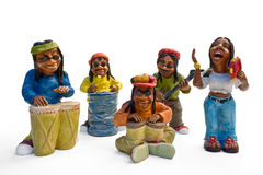 Reggae musicians Stock Images