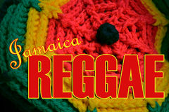 Reggae-Musik Jamaika Stockbilder