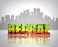 Reggae na cidade Fotografia de Stock