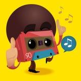 Reggae Retro music party. Vector illustration Royalty Free Stock Image