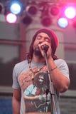 Reggae Singer Stock Photo