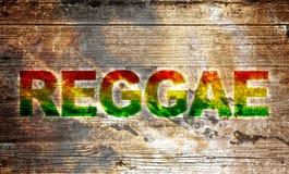 Reggae tło ilustracji