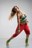 reggae tancerkę. Zdjęcia Stock