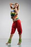 reggae tancerkę. Obrazy Stock