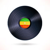 Reggae vinyl record Stock Images