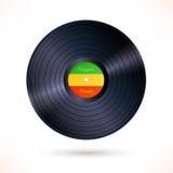 Reggae winylowy rejestr royalty ilustracja