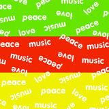 Reggaebakgrund Arkivbilder