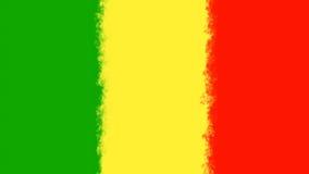 Reggaehintergrund rasta Farben lizenzfreie abbildung